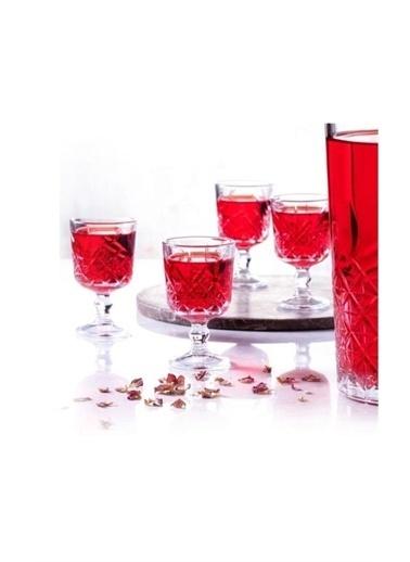 Paşabahçe Timeless 6 Lı Ayaklı Kahve Yanı Küçük Su Bardağı 51718 Renkli